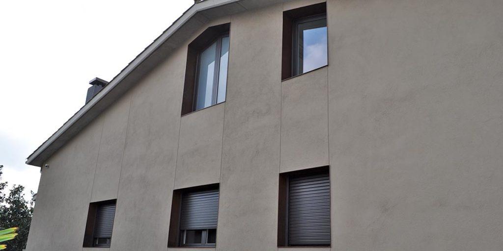 Tancaments de finestres exteriors d'alumini